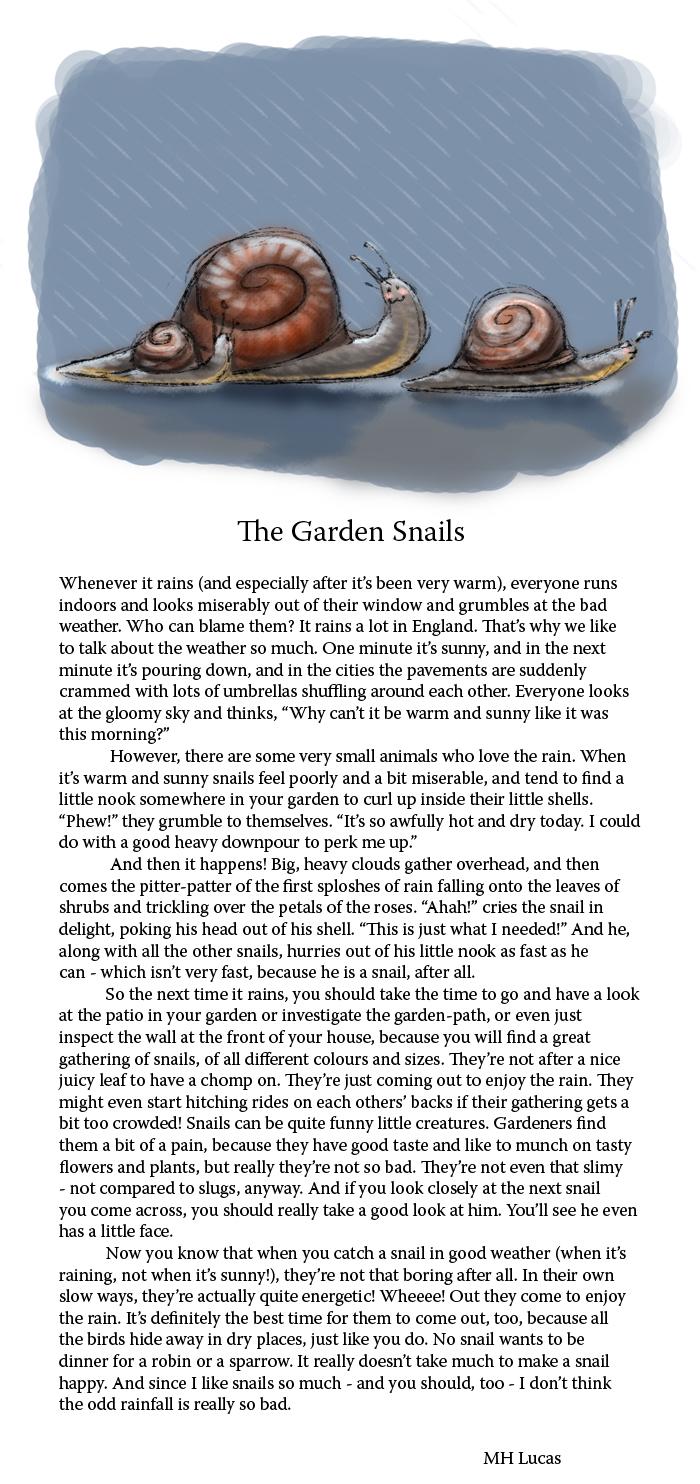The Garden Snails